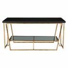 Uttermost Agnes Black Granite Coffee Table