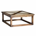 Uttermost Akono Honey Coffee Table