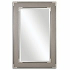 Uttermost Alfred Oversized Gray Tan Mirror