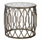 Uttermost Algoma Glass Accent Table