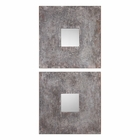 Uttermost Altha Burnished Square Mirrors set of 2
