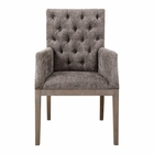 Uttermost Amoria Taupe Brown Armchair