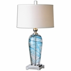 Uttermost Andreas Blown Glass Lamp