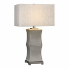 Uttermost Arris Aged Gray Table Lamp