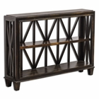 Uttermost Asadel Wood Console Table