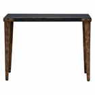 Uttermost Atilo Worn Black Console Table