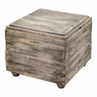 Uttermost Avner Wooden Cube Table