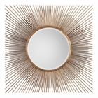 Uttermost Azie Square Starburst Mirror