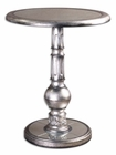 Uttermost Baina Silver Accent Table