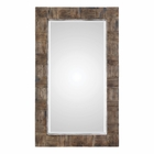 Uttermost Barlow Rustic Wood Mirror