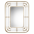 Uttermost Bayo Gold Mirror