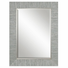 Uttermost Belaya Gray Wood Mirror