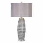 Uttermost Brescia Gray Ceramic Lamp