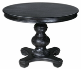 Uttermost Brynmore Wood Grain Round Table