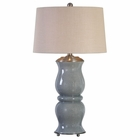 Uttermost Cannobino Pale Blue Table Lamp