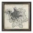 Uttermost City Plan Of Rome Print Map