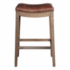 Uttermost Cochran Leather Bar Stool