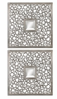Uttermost Colusa Squares Silver Mirror set of 2