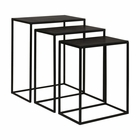 Uttermost Coreene Iron Nesting Tables S/3