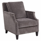 Uttermost Dallen Pewter Gray Accent Chair