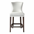 Uttermost Dariela White Counter Stool