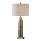 Uttermost Dima Light Brown Ceramic Lamp