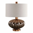 Uttermost Dragley Bronze Mercury Glass Lamp