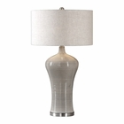 Uttermost Dubrava Light Gray Table Lamp