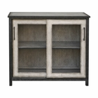 Uttermost Dylan Wire-Mesh Accent Cabinet