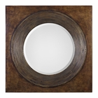 Uttermost Eason Golden Bronze Round Mirror