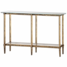 Uttermost Elenio Glass Console Table
