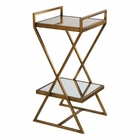 Uttermost Elling Golden Bronze Accent Table