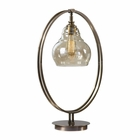 Uttermost Elliptical Brass Edison Bulb Lamp