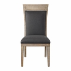 Uttermost Encore Dark Gray Armless Chair