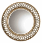 Uttermost Entwined Antique Gold Mirror