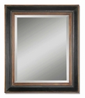 Uttermost Fabiano Black Wood Mirror