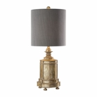 Uttermost Falerone Distressed Golden Lamp