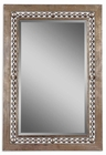 Uttermost Fidda Antique Silver Mirror
