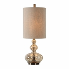 Uttermost Formoso Amber Glass Table Lamp