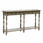 Uttermost Fortuo Weathered Console Table