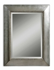 Uttermost Fresno Antique Silver Mirror