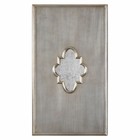 Uttermost Gardanne Silver Leaf Antique Mirror