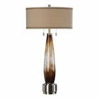 Uttermost Garonne Amber & Ivory Table Lamp