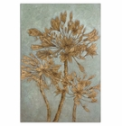 Uttermost Golden Leaves Wall Art