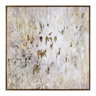 Uttermost Golden Raindrops Modern Abstract Art