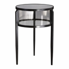Uttermost Gustav Black Iron Accent Table