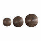 Uttermost Hanneli Ribbed Bronze Circles Set of 3