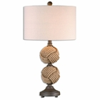 Uttermost Higgins Rope Spheres Table Lamp