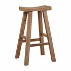 Uttermost Holt Elm Wood Bar Stool