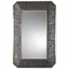 Uttermost Isaiah Ribbed Bronze Mirror